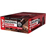 CLIF BUILDER'S - Protein Bar - Chocolate - (2.4 Ounce Non-GMO Bar, 12 Count)
