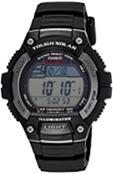 Casio Men's Solar Runner Tough Solar Multi-Function Runner Watch