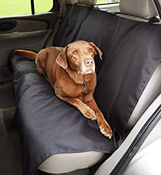 Wondrous Amazonbasics Waterproof Car Back Bench Seat Cover Protector For Pets 56 X 47 Black Caraccident5 Cool Chair Designs And Ideas Caraccident5Info