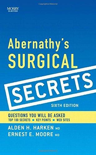 Abernathy's Surgical Secrets, 6e