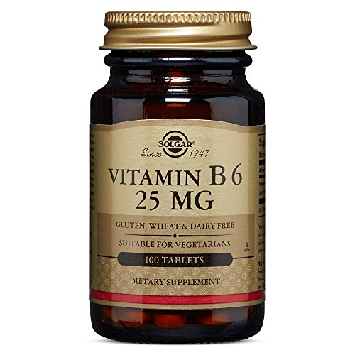 Solgar Vitamin B6 50 mg.