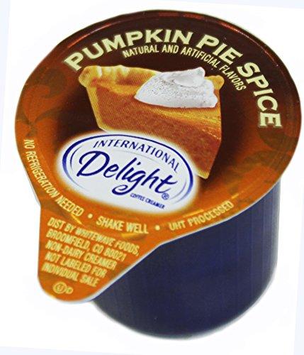 international delight mini pumpkin pie spice coffee creamer singles  7  16 fl oz each   50 count