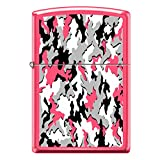 HOT Neon Pink Camouflage Custom Zippo Windproof Collectible Lighter. Made in USA Limited Edition & Rare