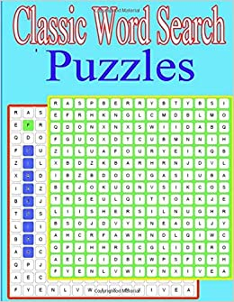 Classic Word Search Puzzles: Puzzle themes ranging from