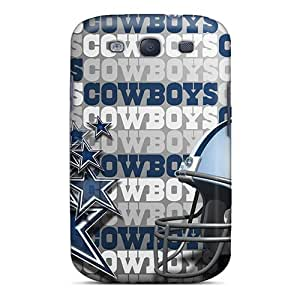 First-class Case Cover For Galaxy S3 Dual Protection Cover Dallas Cowboys