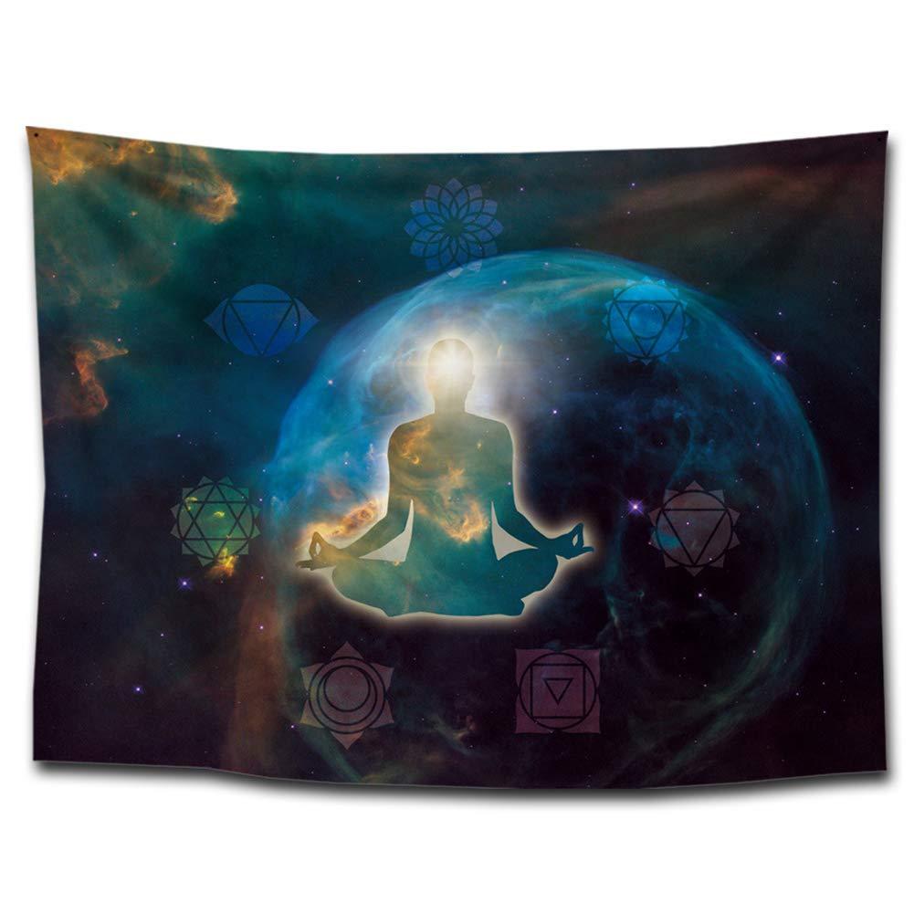 Muñeco Yoga Meditación pared Alfombra 7 Chakras en el ...