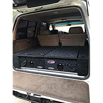 Amazon Com Dobinsons Rear Dual Roller Drawer System For Toyota Land