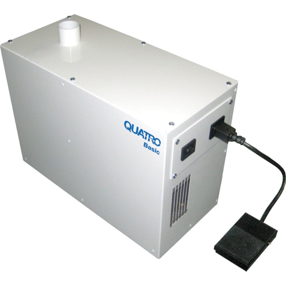 Quatro Basic Dust Collector - Size - With Foot Pedal