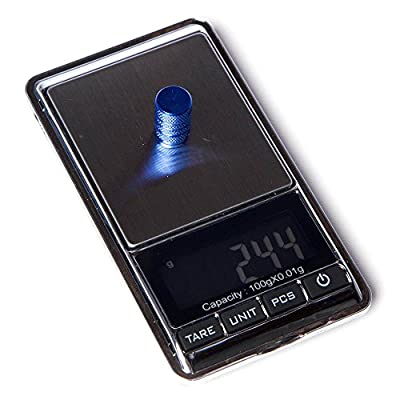 Circuit Performance VC1 Series Blue Aluminum Valve Stem Caps (Set of 4): Automotive