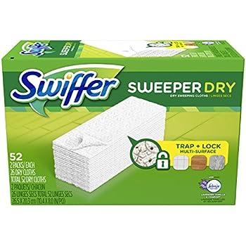 Amazon Com Swiffer Sweeper Dry Sweeping Cloth Refills 48