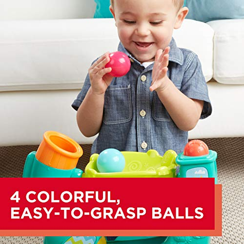 Playskool Chase n Go Ball Popper (Teal), Ages 9 Months and up by Playskool (Image #4)