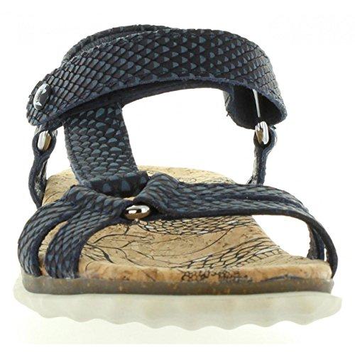 PANAMA JACK Sandalias de Mujer Caribel Snake B1 Napa Marino