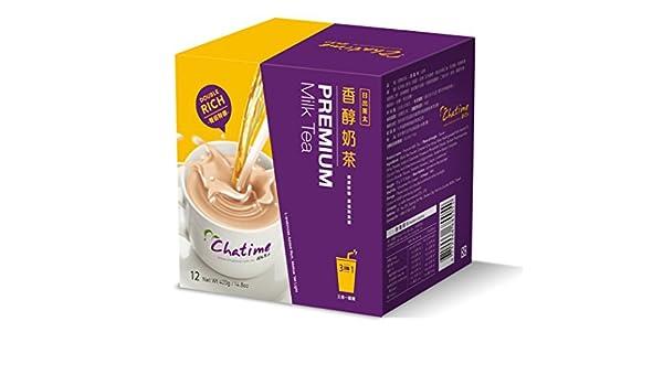 Amazon com : Chatime Premium Milk Tea (Pack of 1) : Grocery