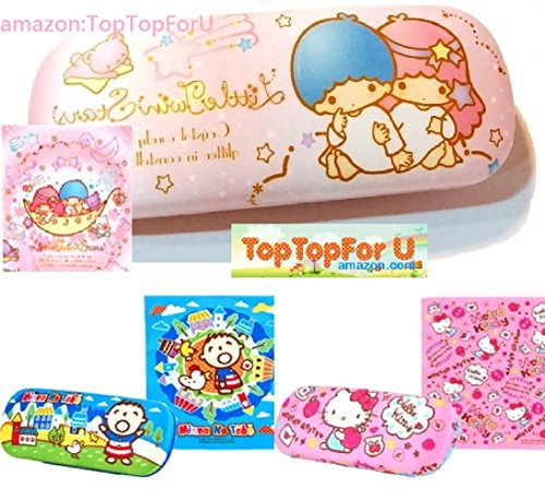 2af939419 Authentic Hello Kitty Eyeglass Hard Case with Cleaning Cloth - Import ...