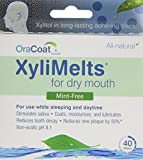 XyliMelts for Dry Mouth, Mint-Free, 80-Count Box