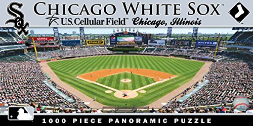 MasterPieces MLB Chicago White Sox Stadium Panoramic Jigsaw Puzzle, ()