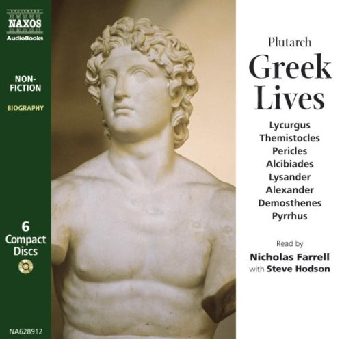 Greek Lives by Naxos Audio Books