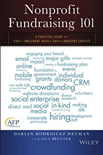 Book Cover: Nonprofit Fundraising 101