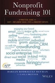 Book Cover: Nonprofit Fundraising 101