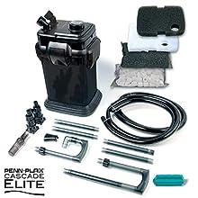 Penn Plax Cascade Canister Aquarium Filter (Cascade Black 700 Elite)