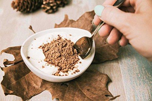 Superfoods: Lino, Algarroba, Cacao, Chia, Azucar de Coco - efecto saciante y eliminación líquidos - Sin Gluten, Soya ni Lactosa (apto para Veganos) 150 ...
