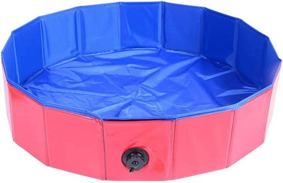 angyunjiule - Piscina para perros para piscinas de 80 x 30/80 x 20/60 x 20 cm, piscina plegable para mascotas: Amazon.es: Productos para mascotas