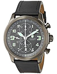 Victorinox Swiss Army Infantry Anthracite Dial Mens Watch #241526