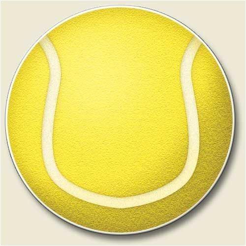 (Tennis Ball Auto Coaster, Single Coaster for Your Car)