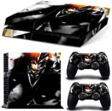 TFSM Branded Bleach PS4 Playstation 4 Skin Decal for console and 2 controllers