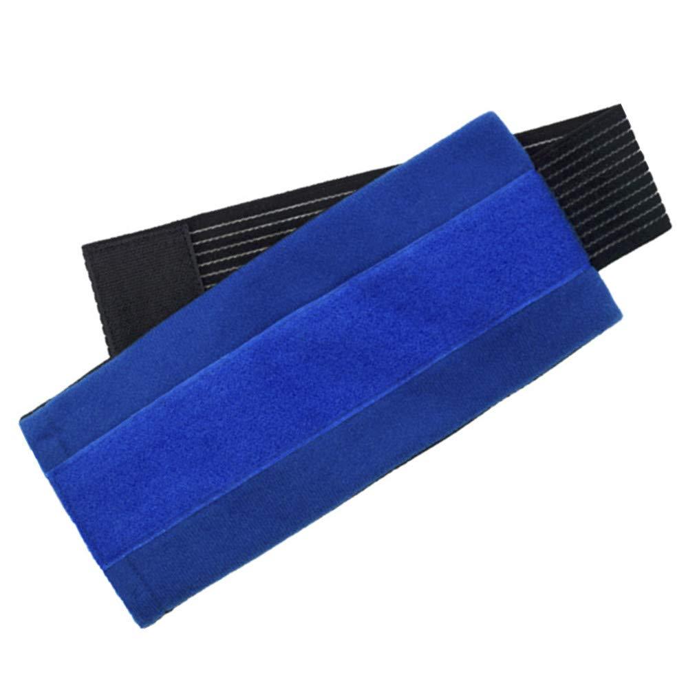 2 bolsas de gel de hielo con cinta de velcro elástica, terapia fría o caliente en cuello, rodilla, hombro, brazo y cabeza, recuperación efectiva y ...