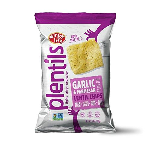 Lentil Chips (Enjoy Life Garlic & Parmesan Lentil Chips, 4 oz)