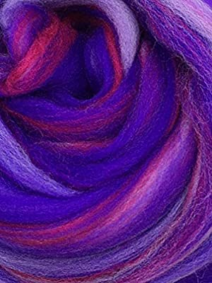 Shep de lana (Merino, Wild Berry Cable de Spinning, fieltro ...