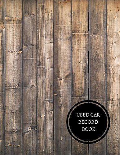 Cars Workbook (Used Car Record Book: Vehicle Sales Log)