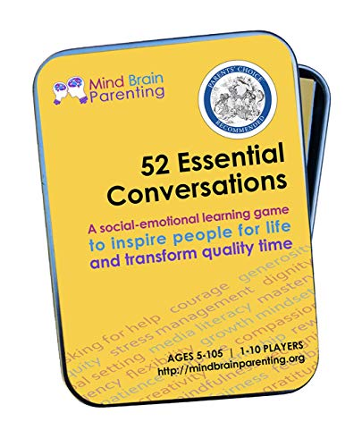 52 Essential Conversations: The Life Skills Card Game for Children and Adults – Builds Social Emotional, Critical…