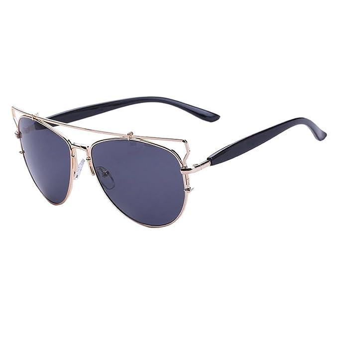 VENMO Moda Gafas de Sol con lente de efecto espejo Estilo ...