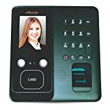 Realtime T304F Face, Fingerprint Time & Attendance Bio-metric Machine with Access Control and BATTERY BACKUP (Free 6 months cloud based attendance management software by Seller KartString)