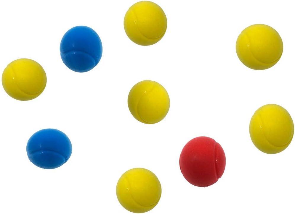 Suave Esponja Pelotas Tenis - Paquete de 9 Varios Colores: Amazon ...