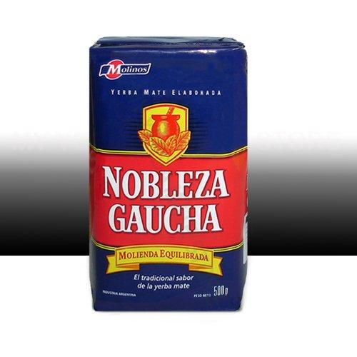 Nobleza Gaucha Yerba Mate - Yerba Mate 1 Lb - Rosamonte - Cruz de Malta (Nobleza Gaucha with Stems)
