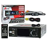 Best POWER ACOUSTIK Backup cameras - Power Acoustik PD-348B 1-DIN 3.4