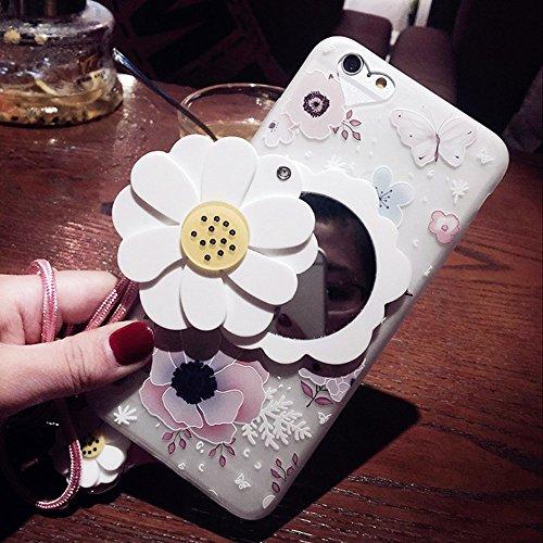 iPhone Beauty Flower Mirror iPhone7