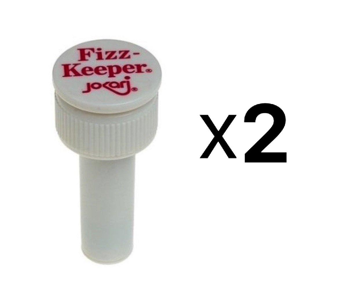 Jokari Fizz Keeper Pump Cap 2 Liter/Lt Soda Pop Bottles Saves Carbonation 2-Pack Harold Imports 1049