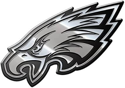 Philadelphia Eagles Chrome Auto Emblem