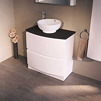 waschtischplatte mit schublade g ste wc. Black Bedroom Furniture Sets. Home Design Ideas