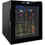 Vinotemp VT-15TSWV Wine Varietal 15-Bottle Wine Cellar, Black