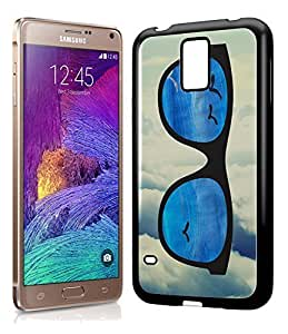 Hipster Infinity of Love Colorful Glasses Phone Case Cover Designs for Samsung Galaxy Note 4