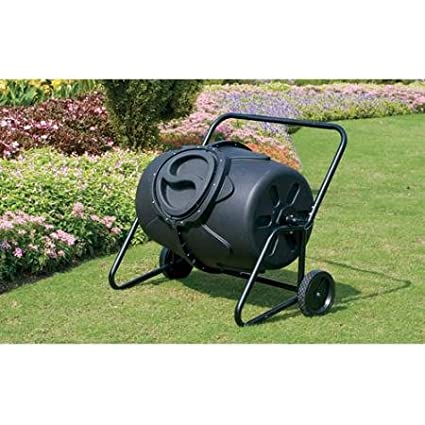 Koolscape 50 gal HD Wheeled Tumbling Composter WTCB-50