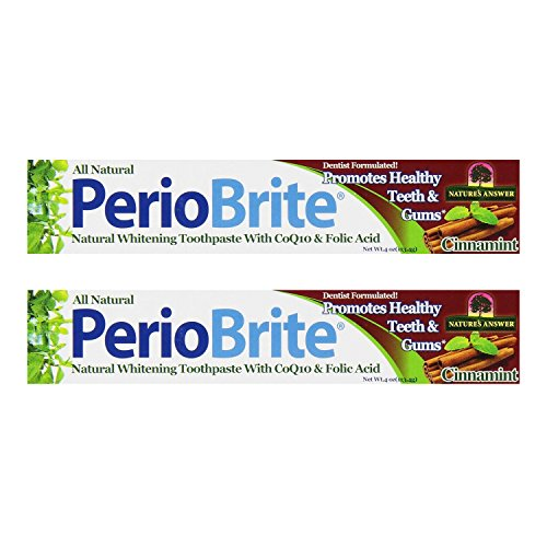 PerioBrite Cinnamint Toothpaste 4 Ounces (Multi-Pack)