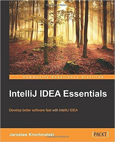 IntelliJ IDEA Essentials Jaroslaw Krochmalski