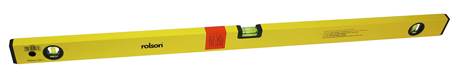 Rolson 54465 Alloy Spirit Level, 900 mm