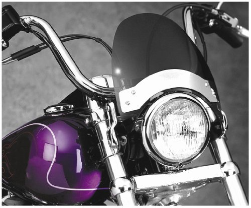 (National Cycle Gladiator Windshield - Dark Tint/Blk)